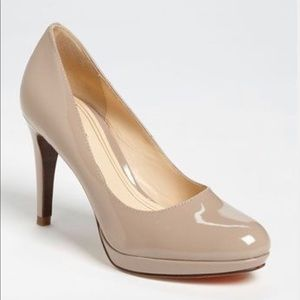 Cole Haan 8.5 nude pumps with Nike Air technology